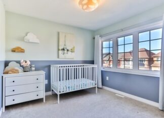 Nursery that makes you think about nursery design tips for your new home